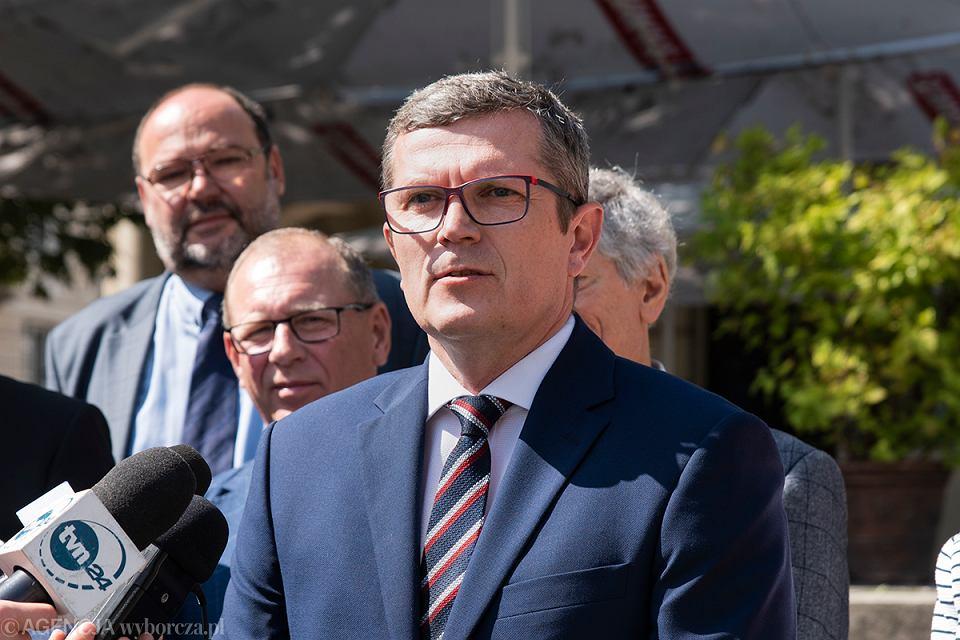 Marcin Bosacki, kandydat KO w wyborach parlamentarnych 2019 do Senatu