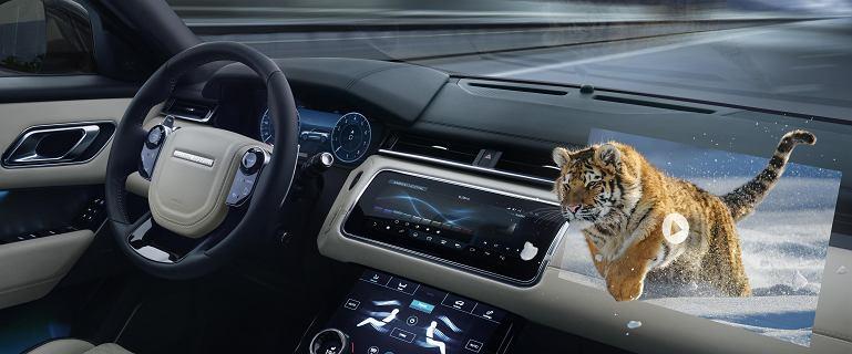Jaguar Land Rover pracuje nad ekranami 3D w autach