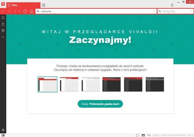 Personalizacja przeglądarki