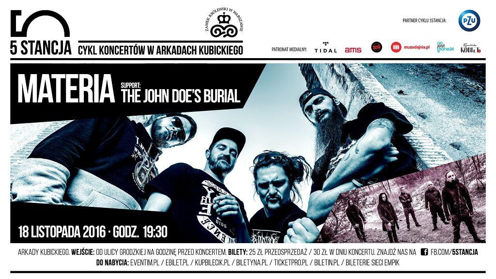 Materia + The John Doe's Burial