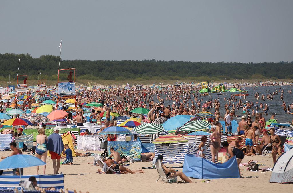 Plaże nad Bałtykiem w czasie epidemii koronawirusa