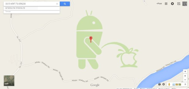Android olewa Apple