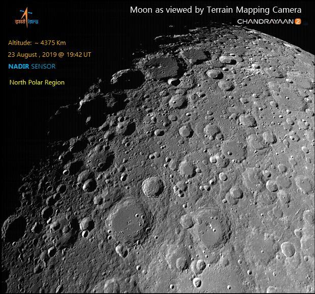 Chandrayaan-2 w drodze na Księżyc