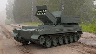 Demonstrator polsko-brytyjskiego niszczyciela czołgów z rakietami Brimstone