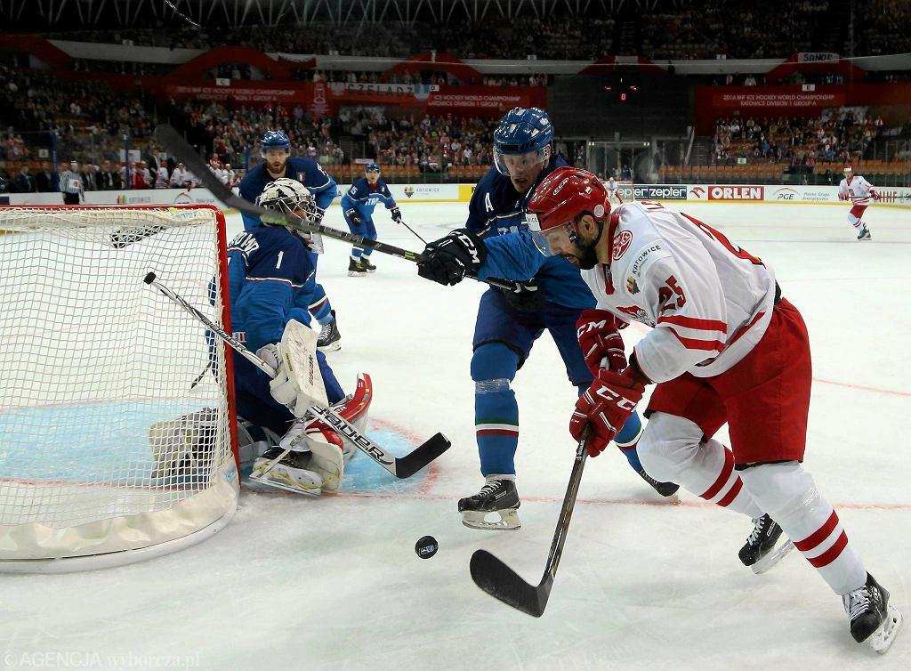Hokejowe mistrzostwa świata Katowice 2016. Włochy - Polska 3:1
