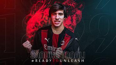 Sandro Tonali nowym piłkarzem AC Milan