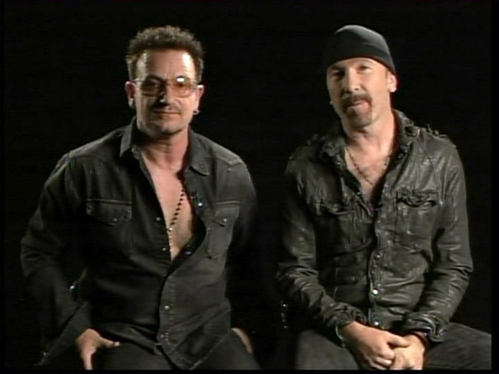 Bono z The Edge