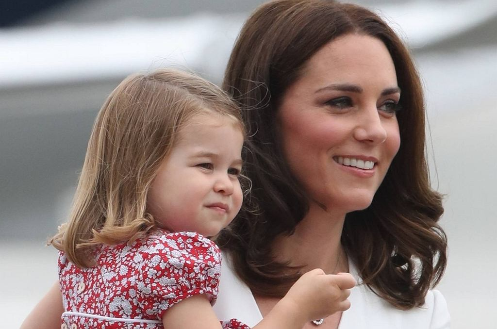 Księżna Kate z małą Charlotte w Polsce