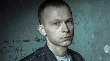 Piotr Trojan na planie filmu '25 lat niewinności. Sprawa Tomka Komedy'