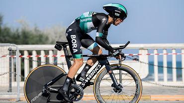 Rafał Majka podczas wrześniowego wyścigu Tirreno-Adriatico