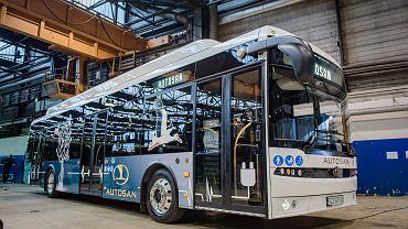 Autosan zaprezentował swój pierwszy autobus elektryczny