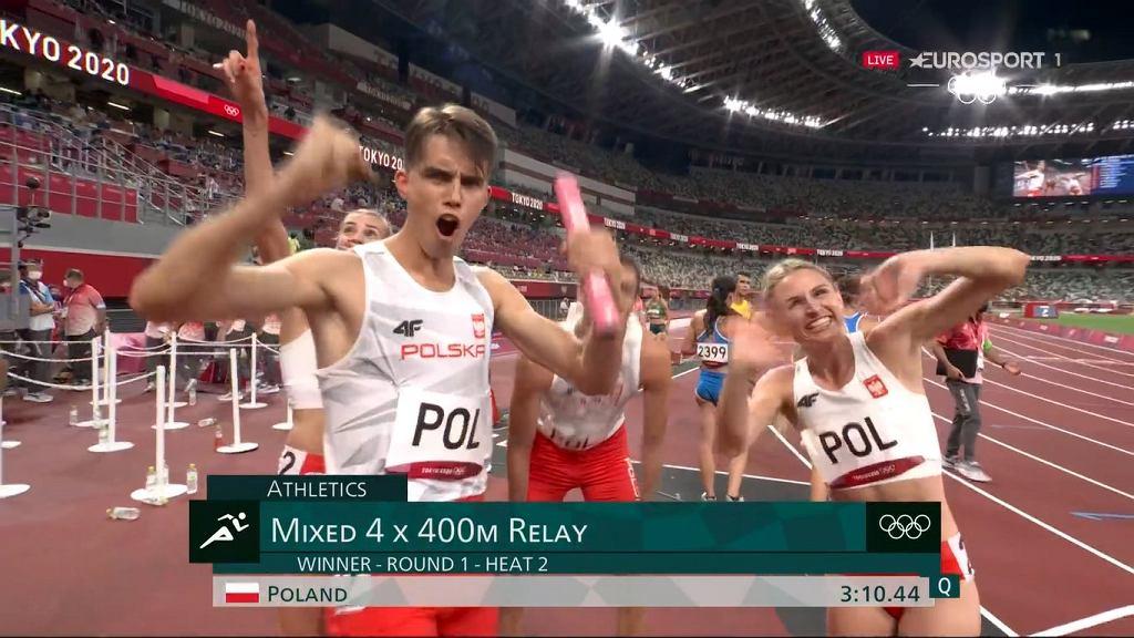 Polska sztafeta mieszana 4x400 m