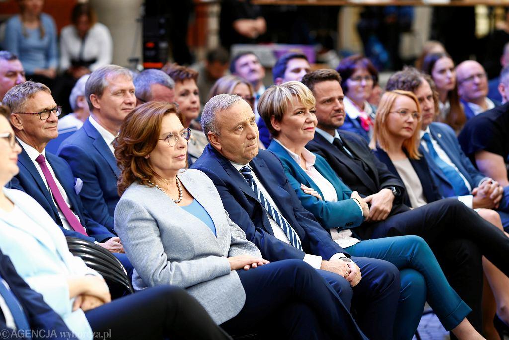 Wybory parlamentarne 2019. Exit poll - wynik Koalicji Obywatelskiej (zdjęcie ilustracyjne)