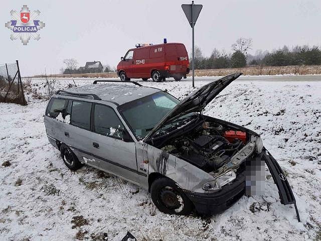 Wypadek we Włodawie
