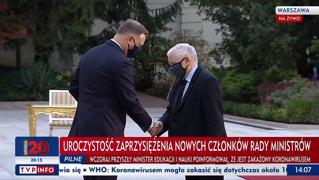 Jarosław Kaczyński obejmuje stanowisko wicepremiera