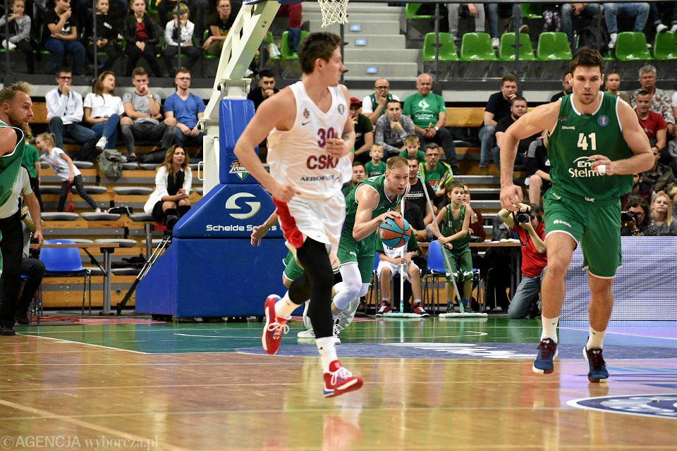 Zdjęcie numer 17 w galerii - Bez niespodzianek, CSKA dała Stelmetowi lekcję koszykówki [ZDJĘCIA]