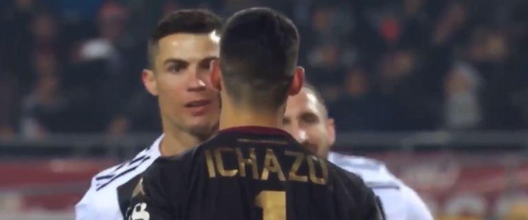 Chamskie zachowanie Cristiano Ronaldo po strzeleniu gola. Balotelli: Gdybym ja to zrobił, to ciao!
