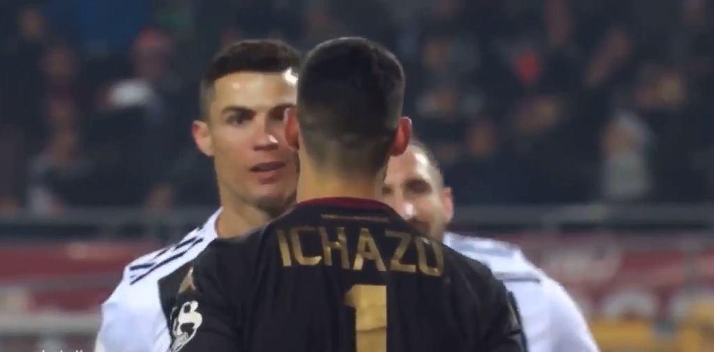 Cristiano Ronaldo i Salvador Ichazo