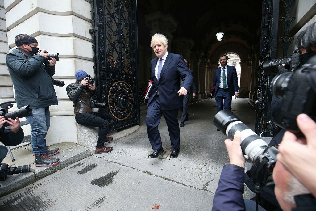 Wielka Brytania. Premier Boris Johnson.