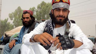 Talibowie na ulicy Kabulu