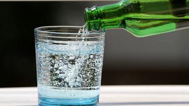 Wody lecznicze -  najważniejszymi składnikami tego rodzaju wód są minerały