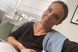 """Agnieszka Włodarczyk pokazała, jak świeżo upieczona mama wygląda przed pracą i po. """"Wyglądasz na zmęczoną"""""""