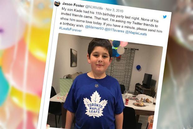 Nikt nie przyszedł na urodziny 11-latka.Życzenia na Twitterze złożył mu więc Justin Trudeau