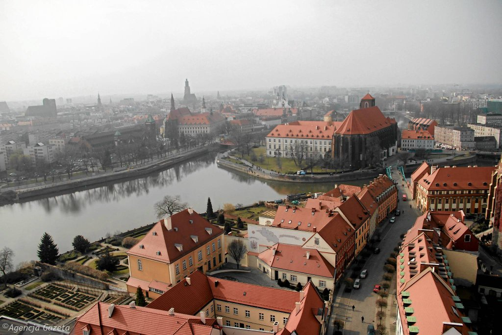 Wrocław. Widok na Ostrów Tumski / KAMILA KUBAT