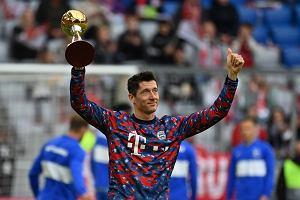Robert Lewandowski odebrał wyjątkową nagrodę przed meczem z Herthą Berlin [WIDEO]