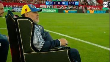 Diego Maradona przestał pracować w argentyńskim klubie