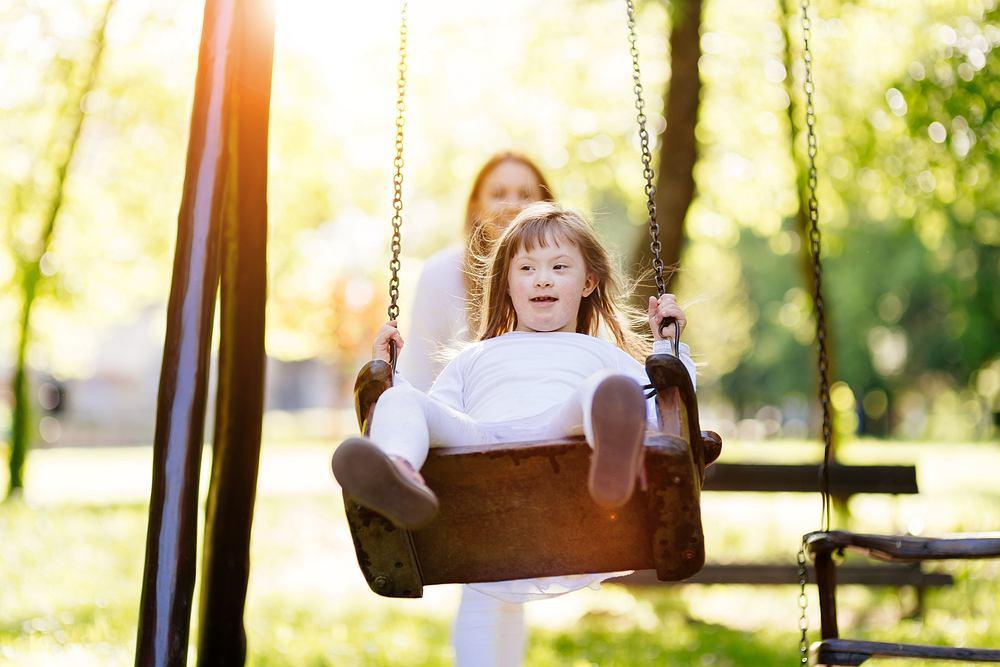 Dzieci z zespołem Downa często obarczone są różnymi wadami. Zdjęcie ilustracyjne