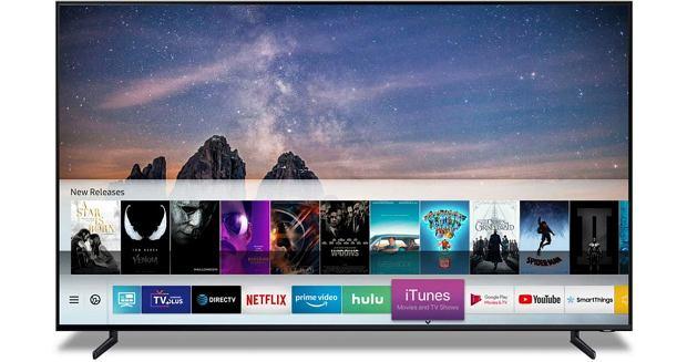 Samsung Smart TV ze wsparciem dla iTunes