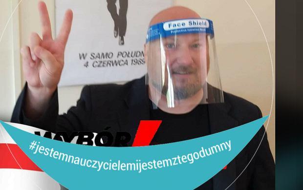 Nauczyciel z Gdyni ma stanąć przed komisją dyscyplinarną. Uczniowie go bronią: Murem za Ordyńcem