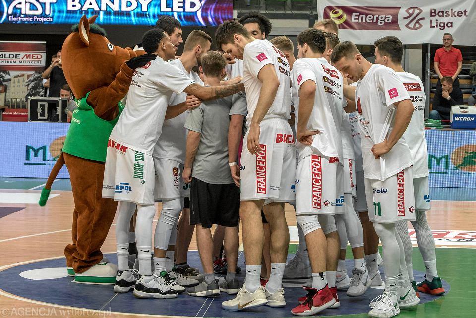 Koszykarze Stelmetu Enea BC Zielona Góra przed meczem z Asseco Arka Gdynia (28.11.2019)