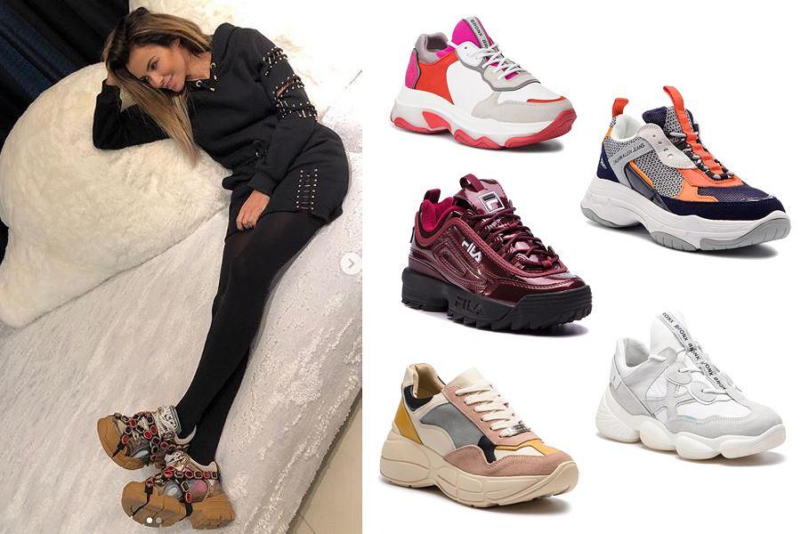 sneakersy / mat. partnera