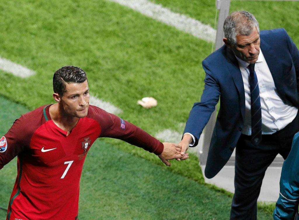 Cristiano Ronaldo i Fernando Santos