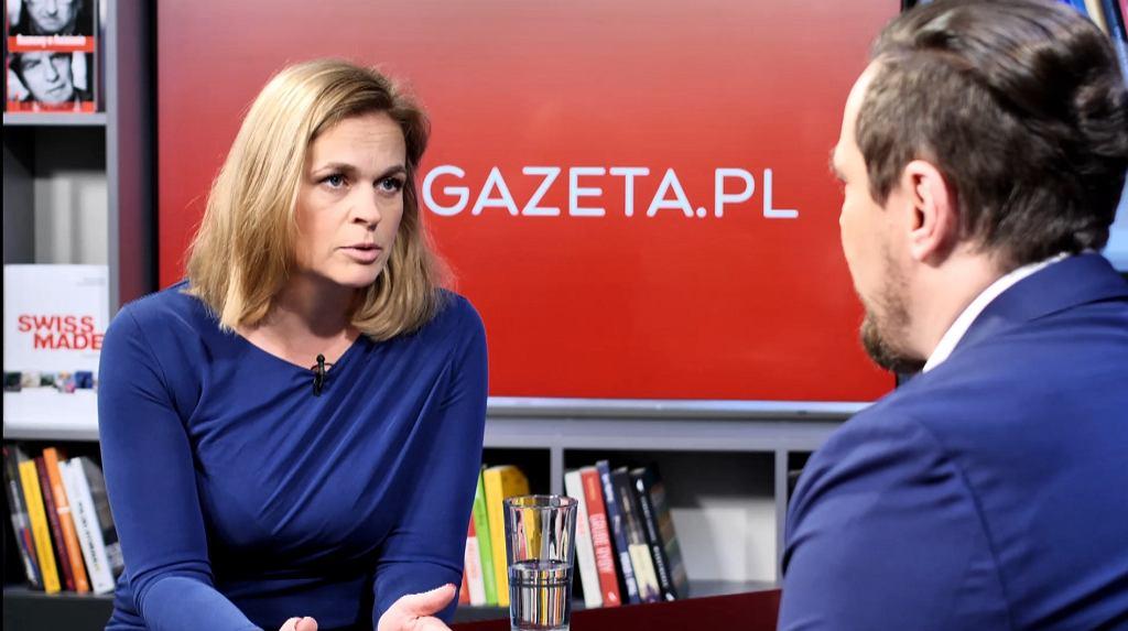 Barbara Nowacka była gościem w Porannej rozmowie Gazeta.pl