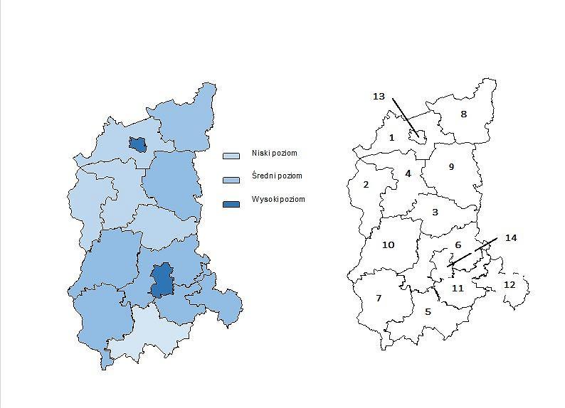 Lubuski Indeks Zdrowia (LIZ). Zachorowalność i zapadalność na wybrane choroby w lubuskich powiatach