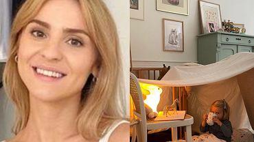 Kasia Tusk bawi się z córką. Zbudowały bazę 'Z powrotem do raju'