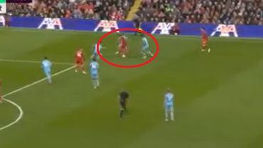 Mohamed Salah w starciu Liverpool - Manchester City