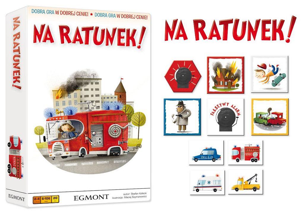 Na ratunek!, Wydawnictwo Egmont Polska