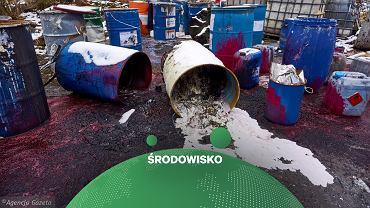 Niebezpieczne odpady - zdjęcie ilustracyjne