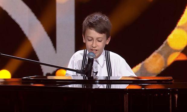 Paweł Madzia - 'Chwytaj dzień' - Przesłuchania w ciemno | The Voice Kids Poland 3