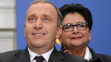 Uśmiech szczęścia i nadziei na twarzy Grzegorza Schetyny. Ogłoszenie składu rządu Kopacz