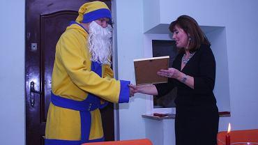 Akcja żółto-niebieski Mikołaj