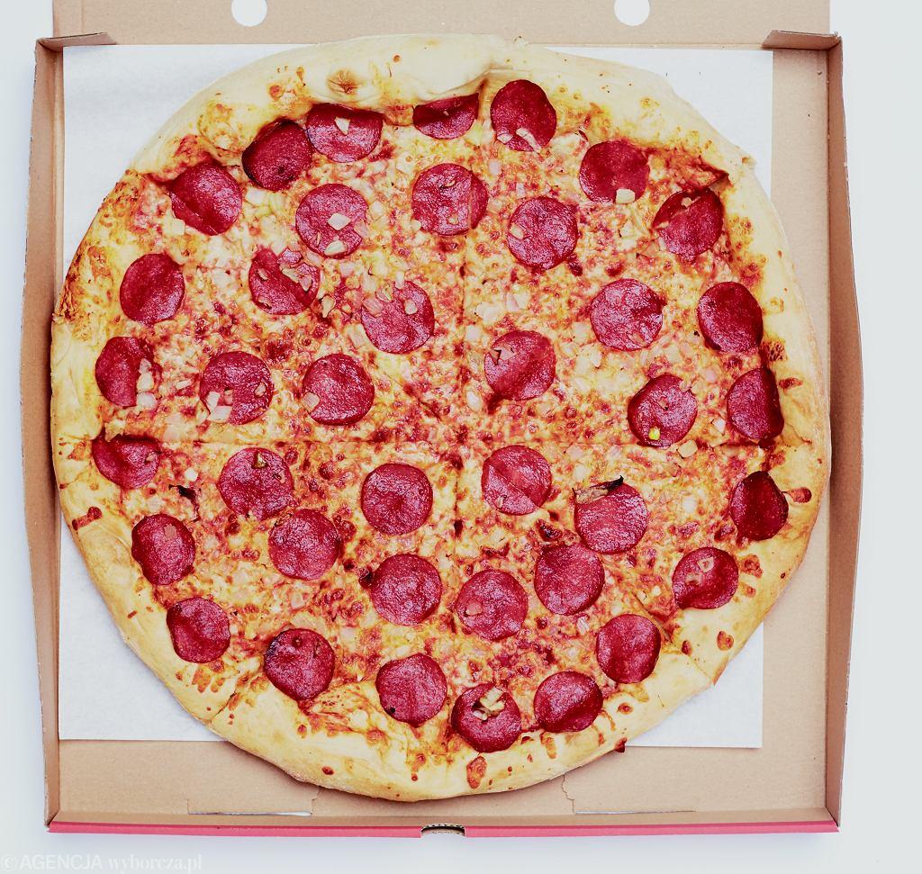 Pizza Pepperoni z Telepizzy