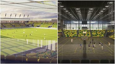 Nowy stadion i hala w Katowicach stworzą kompleks sportowy, którego całkowity koszt to 250 mln złotych. Ogłoszono przetarg na jego budowę
