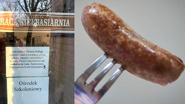 Restauracja chciała szkolić z zakresu obsługi noża i widelca