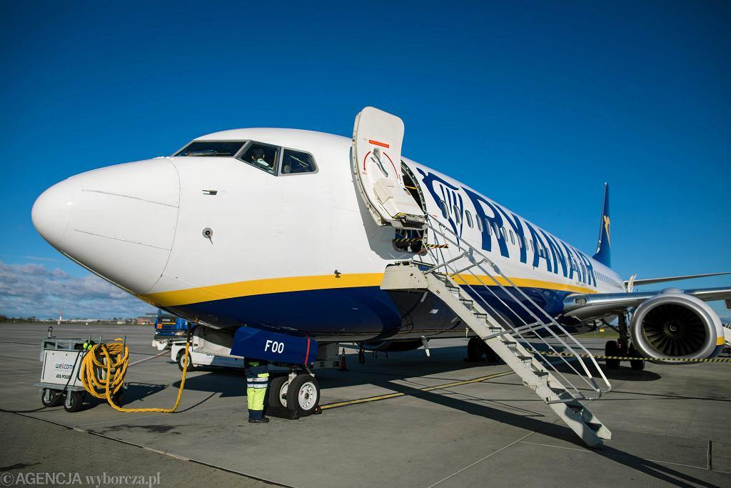 Ryanair zabronił podróżowania na pokładzie swoich samolotów niektórym pasażerom