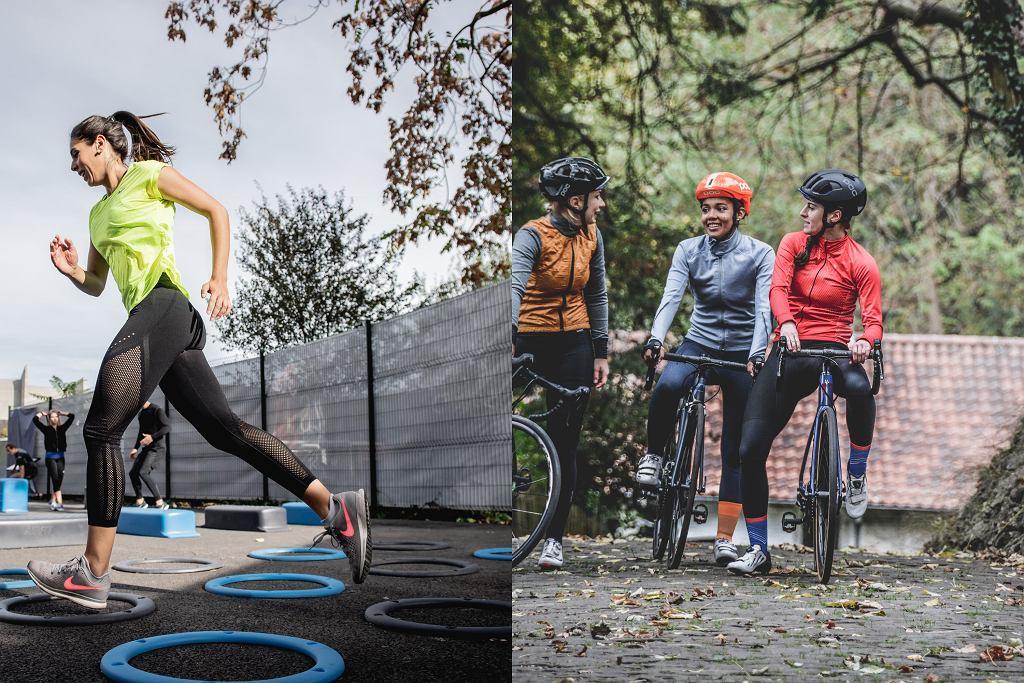 Bieganie czy jazda na rowerze - co wybrać?